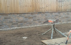 garden wall construction