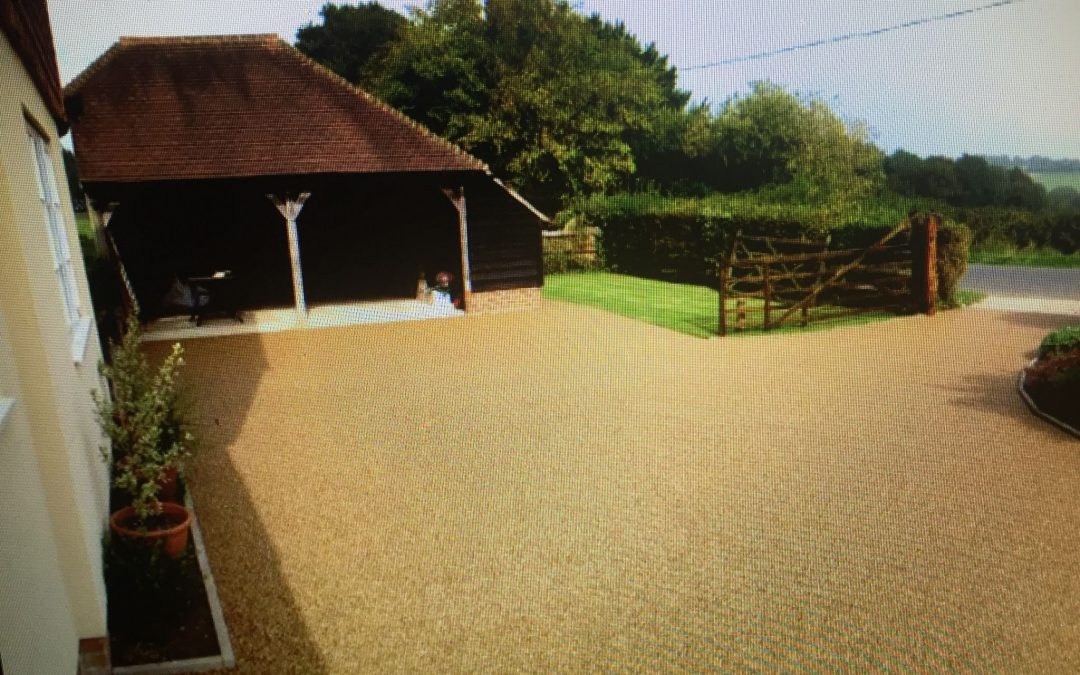 Resin Bound Driveway Course
