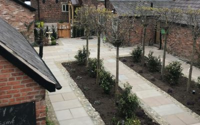 Yew Tree Farm Courtyard